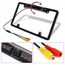 1x US Car Wide Rear View Backup Camera Night Vision HD Image License Plate Frame
