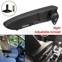 Right Car Seat Armrest Arm Rest Adjustable For Camper Motorhome Truck