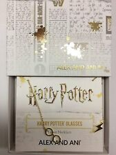 Alex and Ani Harry Potter Glasses Lariat Necklace 14kt Gold Plated NWTBC