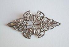 work & design layered varied Antique cut steel brooch Georgian/Victorian lovely