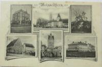 Weissenhorn in Bayern, Mehrbildkarte 1911 aus Weissenhorn (4121)