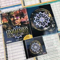 1999 Civilization: Call to Power WIN 95/98/NT Mac CD-ROM - Game Strategy Guide