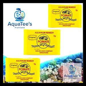 2x POMATE 10gr POWDER TREATMENT MEDICINE FOR ALL FISH DISEASES TANK POND MARINE