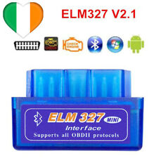 ELM327 Bluetooth V2.1 Car Diagnostic Tool OBD2 Wireless Android Fault Code Scan