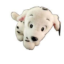 The Disney Channel 101 Dalmatians Puppy Plush Stuffed Animal Red Ribbon w/ Tags