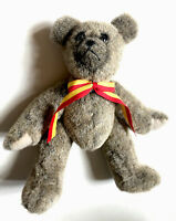 "Signed Sally Winey Plush Custom Made Teddy Bear 8.5"" #651"