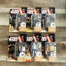 Hasbro Disney Star Wars The Force Awakens Action Figure Lot Of 6
