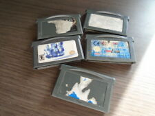 LOT DE 5 JEUX GBA GAMEBOY ADVANCE SP A VOIR !!!