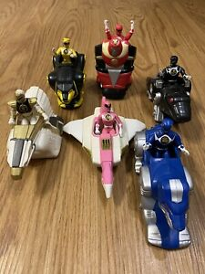 Mighty Morphin Power Rangers The Movie 1995 - McDonalds Toys Complete Set Bandai