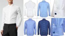 Business-Regular Collar Formal Shirts Easy Iron Regular for Men