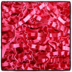 IMPERIAL RED Shredded Luxury Tissue Paper Crinkle Zig Zag Hamper Gift 25gr
