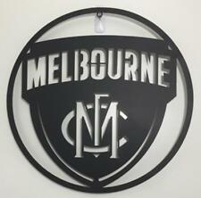 AFL Melbourne Demons Metal Wall Plaque Sign Aussie Australian Football 500mm