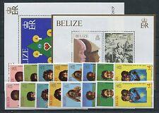 Belize 478/82 A + B Block 16 + 17 postfrisch / Kinder - A. Dürer .........1/2924