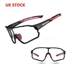 ROCKBROS Photochromic Sunglasses Cycling Glasses 100% UV400 Goggles UK STOCK