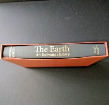 The Earth An Intimate History by Richard Fortey Folio Society With Slipcase