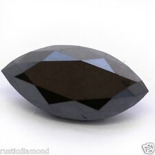 2.00Ct Fancy Marquise cut Natural Loose Black Diamond 1 Pcs for Sale Africa NR00