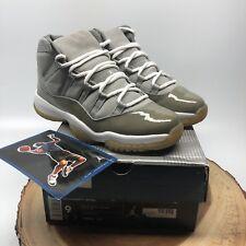 Nike Air Jordan Retro XI Cool Grey 136046 011 Size 9 Concord Space Jam Bulls XII