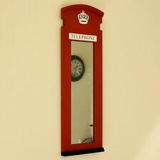 Espejo De Caja De Teléfono De Londres Rojo