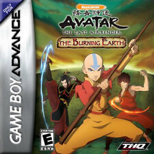 Avatar: The Last Airbender - the Burning Earth GBA New Game Boy Advance