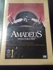 AMADEUS DVD director's cut 2 dischi COME NUOVO Milos Forman no editoriale