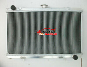 3 ROW aluminum alloy radiator for Nissan silvia 180sx S13 SR20DET 1989-1994 MT