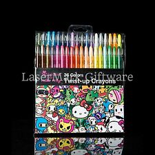 Hello Kitty Tokidoki Twist-Up Crayons