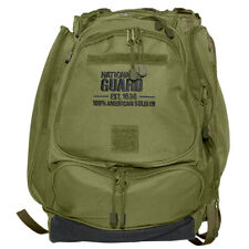 MFH US National Guard Mochila Patrulla Laptop Portátil Errante Camping OD Verde