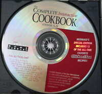 The Complete Interactive Cookbook Version 1.0 CD-ROM, Compton's Home Library