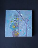 deco tableau art toile peinture acrylique d'art abstrait