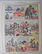 Lone Ranger Sunday Page by Fran Striker and Charles Flanders from 1/10/1943