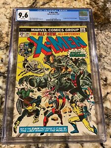X-MEN #96 CGC 9.6 WHITE PAGES 2ND HIGHEST GRADED! 1ST APP MOIRA MACTAGGERT RARE!