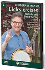 Bluegrass Banjo Licks-Ercises DVD 2: Single String & Melodic Styles Tu 000173470