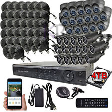 Sikker Standalone 32 Ch Channel 720P DVR Video Security Camera system HDMI 4TB
