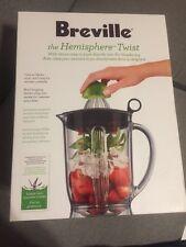 Breville BBL405BAL Hemisphere Twist Smoothie Blender, Silver 450 Watt