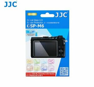 JJC GSP-M6 Ultra-thin Glass LCD Screen Protector for CANON EOS M6 G9 X MarkII ..