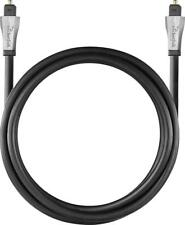 Rocketfish- 4' Toslink Optical Audio Cable - RF-G1221 Black