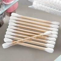 Wooden Stick Cotton Swabs/Qtips(100CTx5)-Beauty Products&for use  O8J7