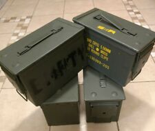 Ammo Can Box US Army Military M2A1 50 Cal Ammunition Storage  5.56MM