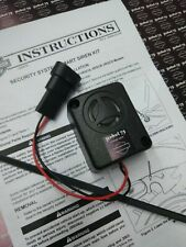 HARLEY SECURITY SYSTEM SIREN, H-D ALARM SIREN, SOUND PROTECTION Harley-Davidson