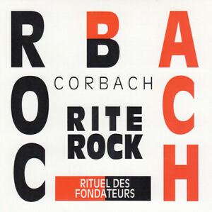 CORBACH Rite Rock (CD 1994) 12 Songs French Quebec Jewel Case Made in Canada