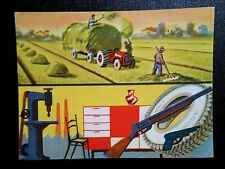 figurines cromos picture cards card figurine le regioni d'italia ieri e oggi 92