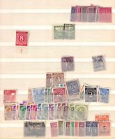 GERMANY AND AREA 2 STOCK PAGES COLLECTION LOT OG H-NH CXLS POSTHORNS SEMI POSTAL