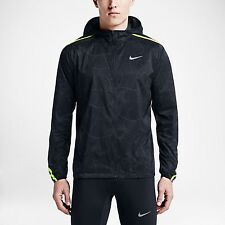 NIKE NEW IMPOSSIBLY LIGHT CRACKLED RUNNING JACKET 717766-060 MENS SIZE SMALL