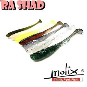 MOLIX RA SHAD Real Action Jig Rockfish Finesse Soft Aroma Scented & Salty Lure