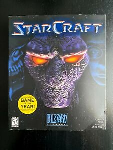 Vintage Blizzard 1998 StarCraft Mac OS PC Big Box - CIB - Complete Set