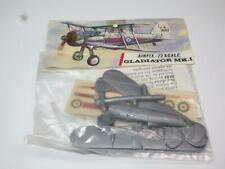 AIRFIX 1/72 MODEL AIRCRAFT KIT Gloster Gladiator Mk I Unmade in Red Stripe Bag