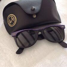 Authentique RAY BAN U.S.A lunette de soleil WAYFARER  Bicolore