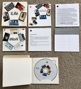 Apple iLife '08 Family Pack MB016Z/A - As-New Condition, Full Retail Packaging
