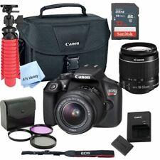 New Canon Rebel T6 Slr Camera Premium Kit w/ 18-55 Lens, bag, Sd Card1