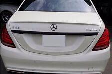 Mercedes W222 Trunk Deck Lip Spoiler OE Type Sedan S500 S550 S600 2014+